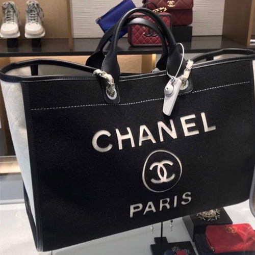 Chanel Large Tote in Black