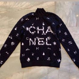 Chanel Logo Jumper from FW Collection