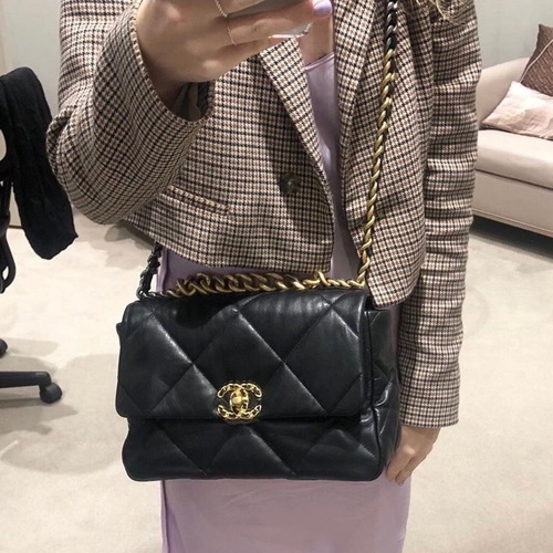 Chanel Medium Flap Bag Chanel 19