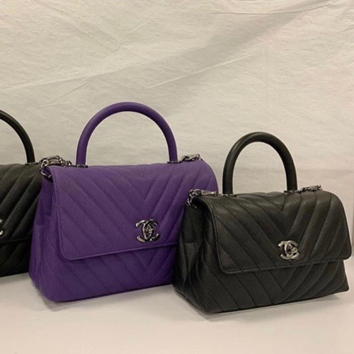 Chanel Small and Medium Cocohandle Bags