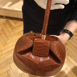 Gabriela Hearst Demi Bag in Crocodile