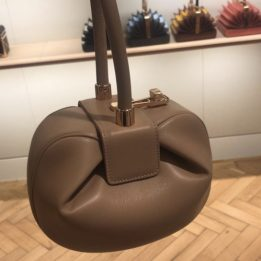 Gabriela Hearst Demi Bag in Nude
