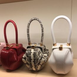 Gabriela Hearst Demi Bags in Watersnake