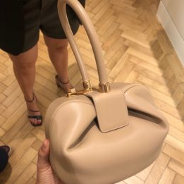 Gabriela Hearst Nina Bag in Nude