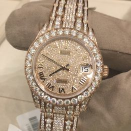 Rolex Datejust Diamonds