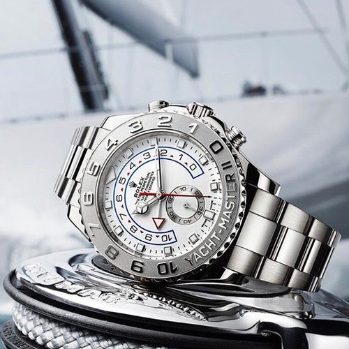 Rolex Yacht Master II White Gold and Platinum