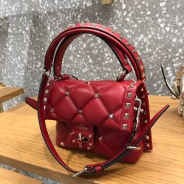 Valentino Candy Quilted Bag in Red