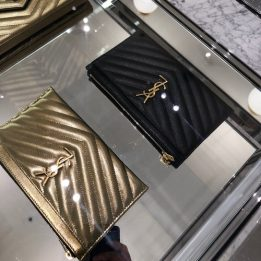 YSL Leather Pouch