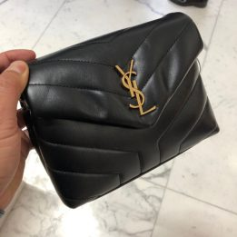 YSL Toy Loulou Black GHW