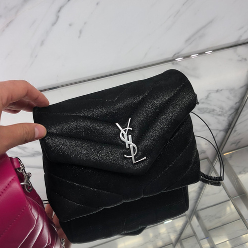 YSL Toy Loulou in Black